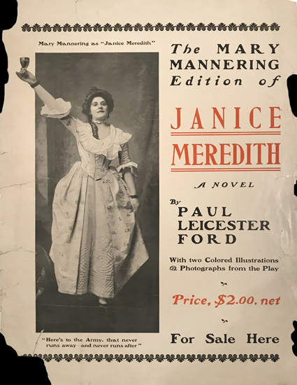 Janice Meredith by Paul Leicester Ford