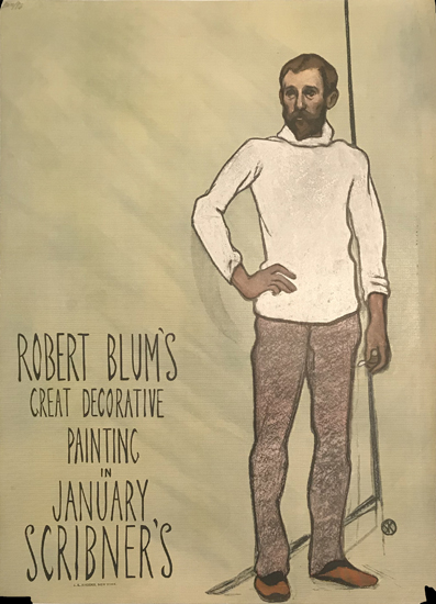 Scribner's January Robert Blum's Great Decorative Painting