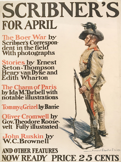 Scribner's for April (Soldier)