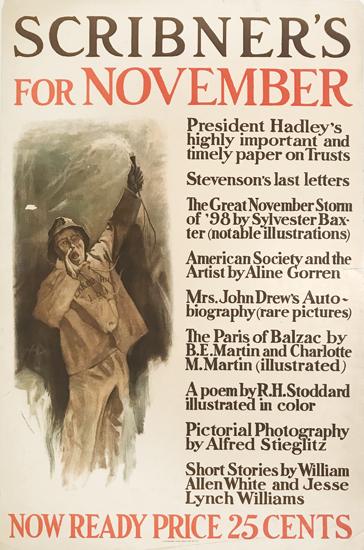 Scribner's for November (Man Yelling)