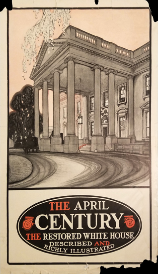 The April Century- The Restored White House