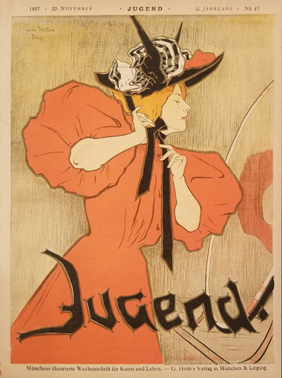 Jugend- November (Woman in the Mirror)