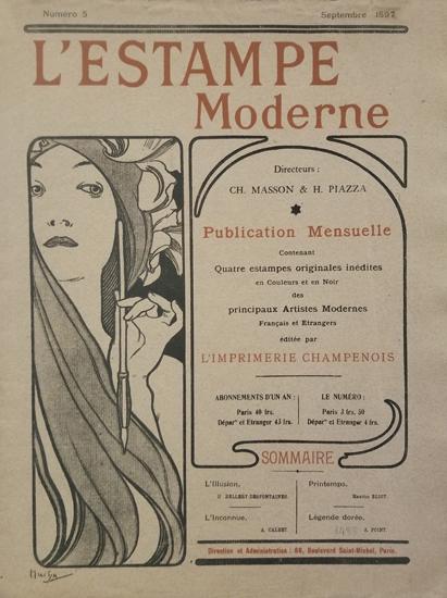 L'Estampe Modern Cover Number 5