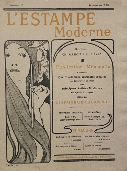 L'Estampe Modern Cover Number 17