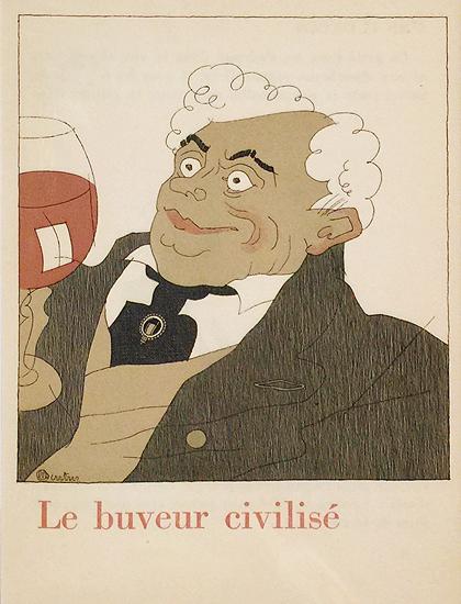 Le Buveur Civilise (The civilized drinker) Nicolas Wine Distributor