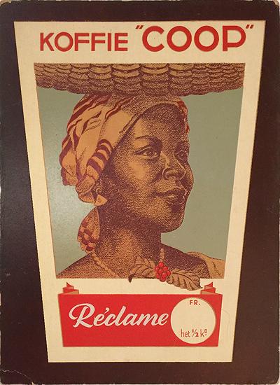 Koffie Coop Reclame (carton)