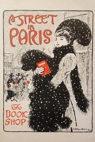 A Street in Paris- The Book Shop