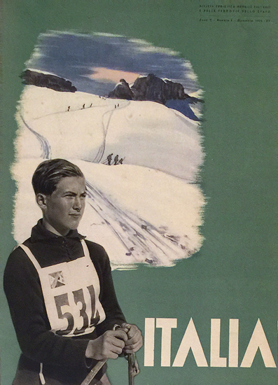 Italia (Magazine Cover, Skier)