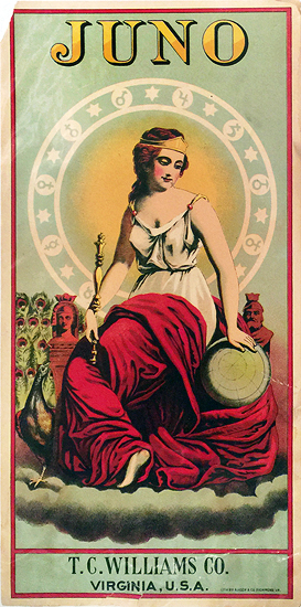 The Belle of Virginia (Cigar Label)
