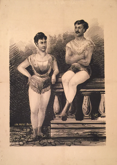 Turn of the Century Acrobats