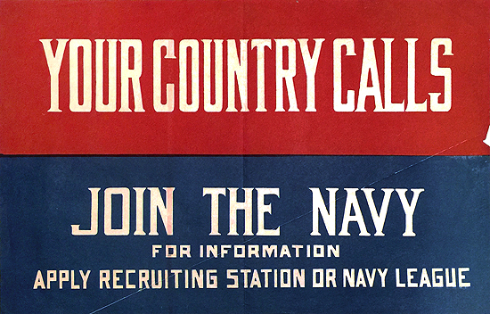 Your Country Calls Join the Navy