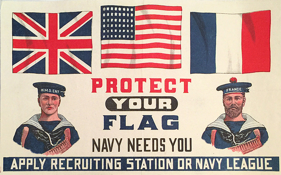 Protect your Flag, Navy Needs You