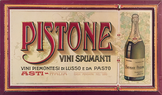 Pistone Vini Spumpanti