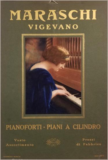Maraschi Vigevano Pianos (Green)