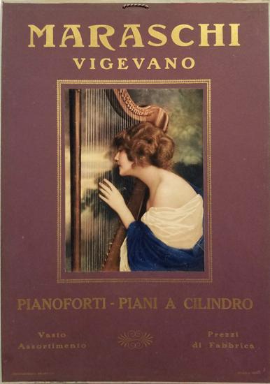 Maraschi Vigevano Pianos (Red Harp)