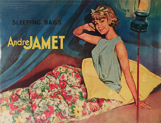 Andre Jamet Sleeping Bags