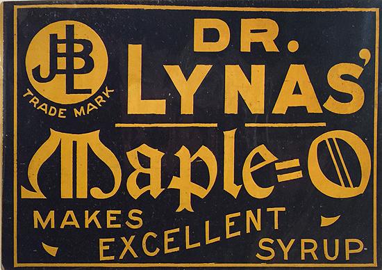 Dr. Lynas' Maple O