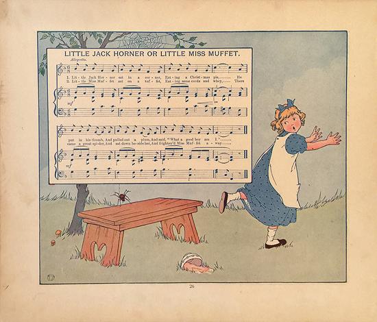 Little Jack Horner or Little Miss Muffet (Music Sheet)