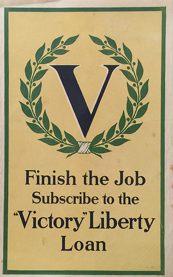 Finish the Job - Subscribe to the Liberty Loan (Mini Size)