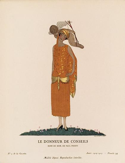 Le Donneur De Conseils (Gazette Du Bon Ton Page)