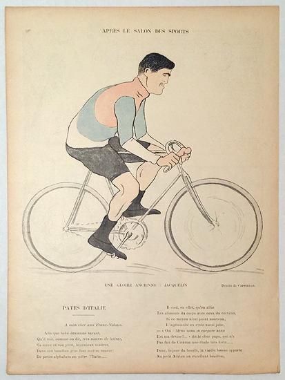 Le Rire Apres Le Salon des Sports- Une Gloire ancienne: Jacquelin.