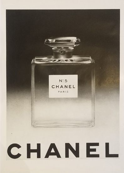 Magazine Ad- Chanel