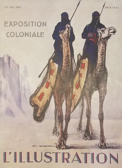 Magazine Cover- L'Illustration (Desert)