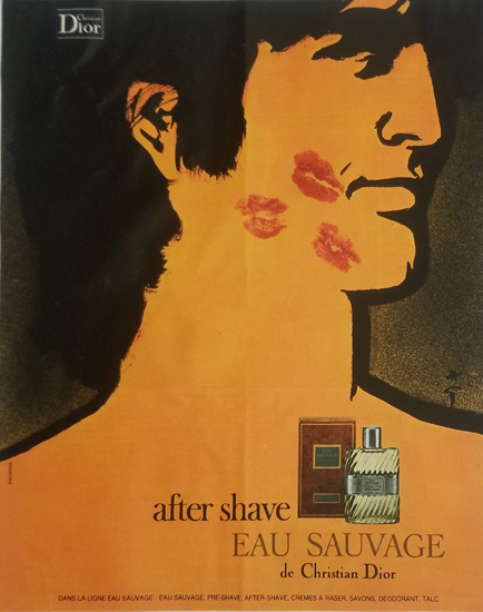 Magazine Ad- Sauvage Kisses