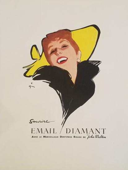 Magazine Ad- Email Diamant