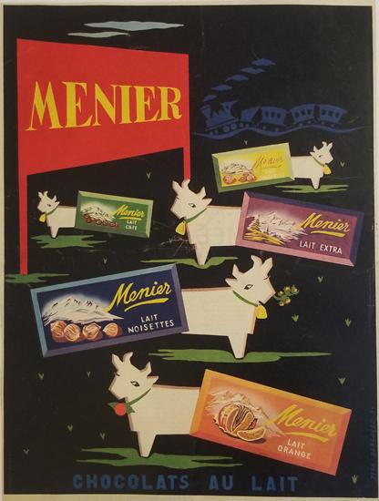 Magazine Ad- Menier
