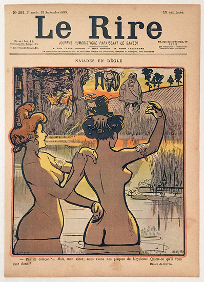 Le Rire (Naiades en Regle, Septembre 1899)