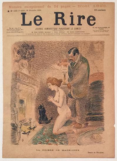 Le Rire (La Priere de Madeleine, Decembre 1896)