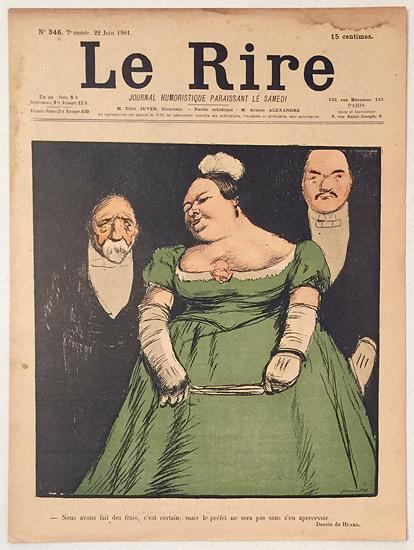 Le Rire (Woman in Green Dress, 22 Juin 1901)