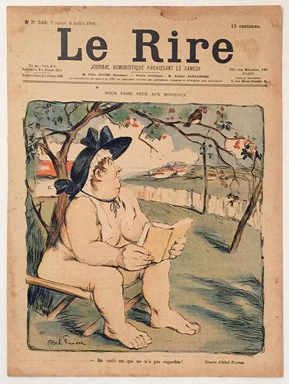 Le Rire (Pour Faire Peur Aux Moineaux/ Julliet 1901)
