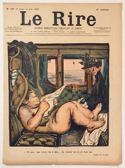 Le Rire (Et puis, vous n'avez rien a dire/ Aout 1898)