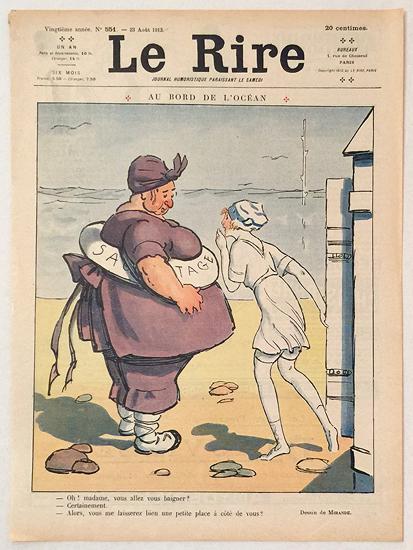 Le Rire (Au Bord de L'Ocean, Aout 1913)