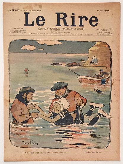 Le Rire (C'est deja bien mieux que l'annee derniere/ Juillet 1901)