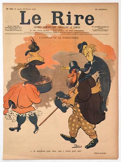 Le Rire (L'Aveugle et Le Paralytique/ Fevrier 1899)