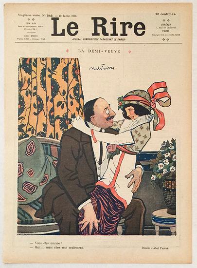 Le Rire (La Demi Veuve, Juillet 1913)