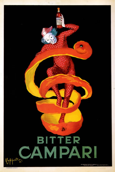 Bitter Campari (Large Two-Sheet Format)